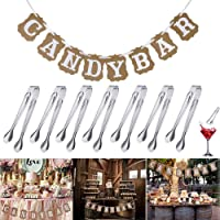 REYOK Candy Bar Party Set, Candy Bar Banderines