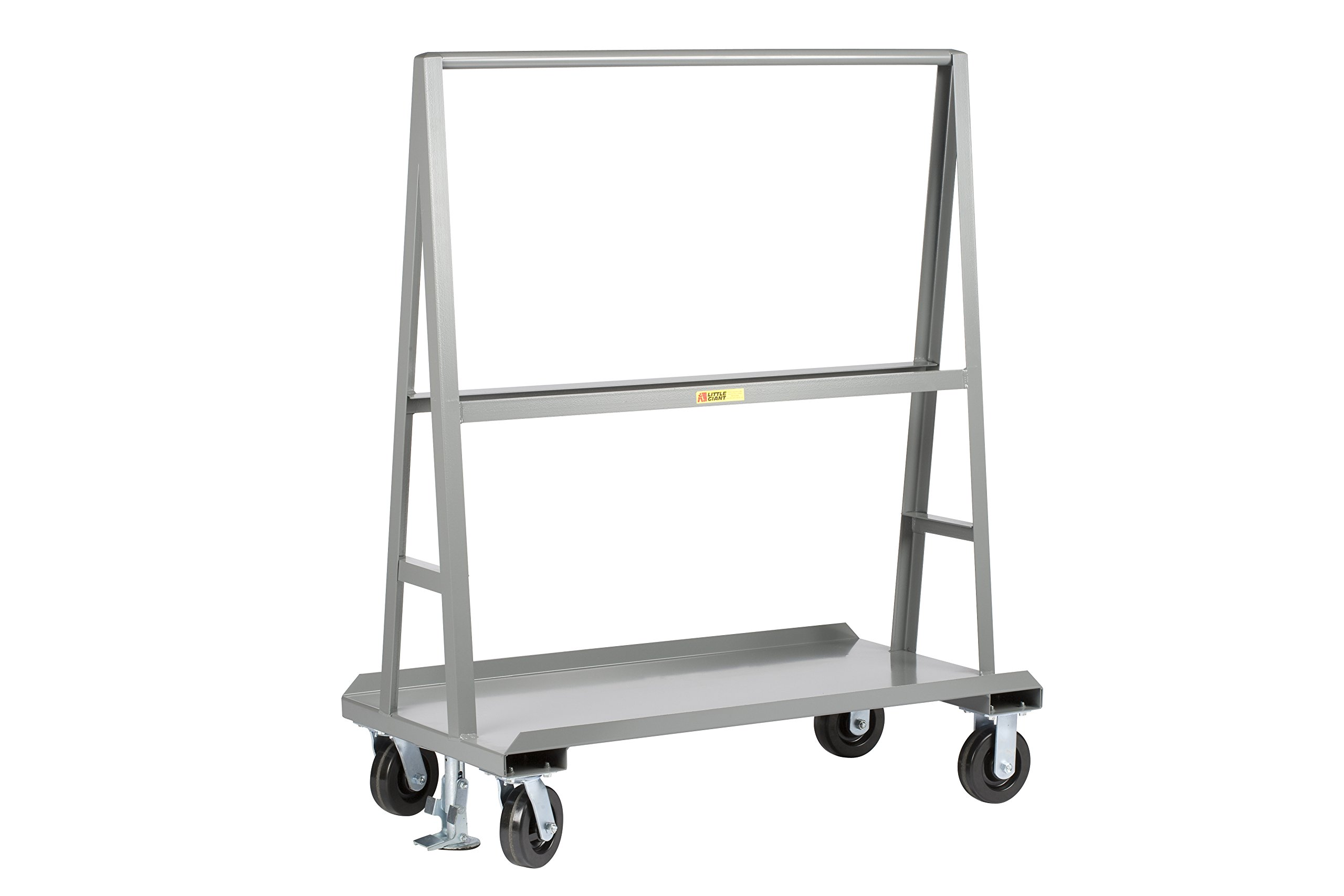 Little Giant AF-3672-2R-FL''A'' Frame Sheet and Panel Truck, 36'' x 72'', Gray