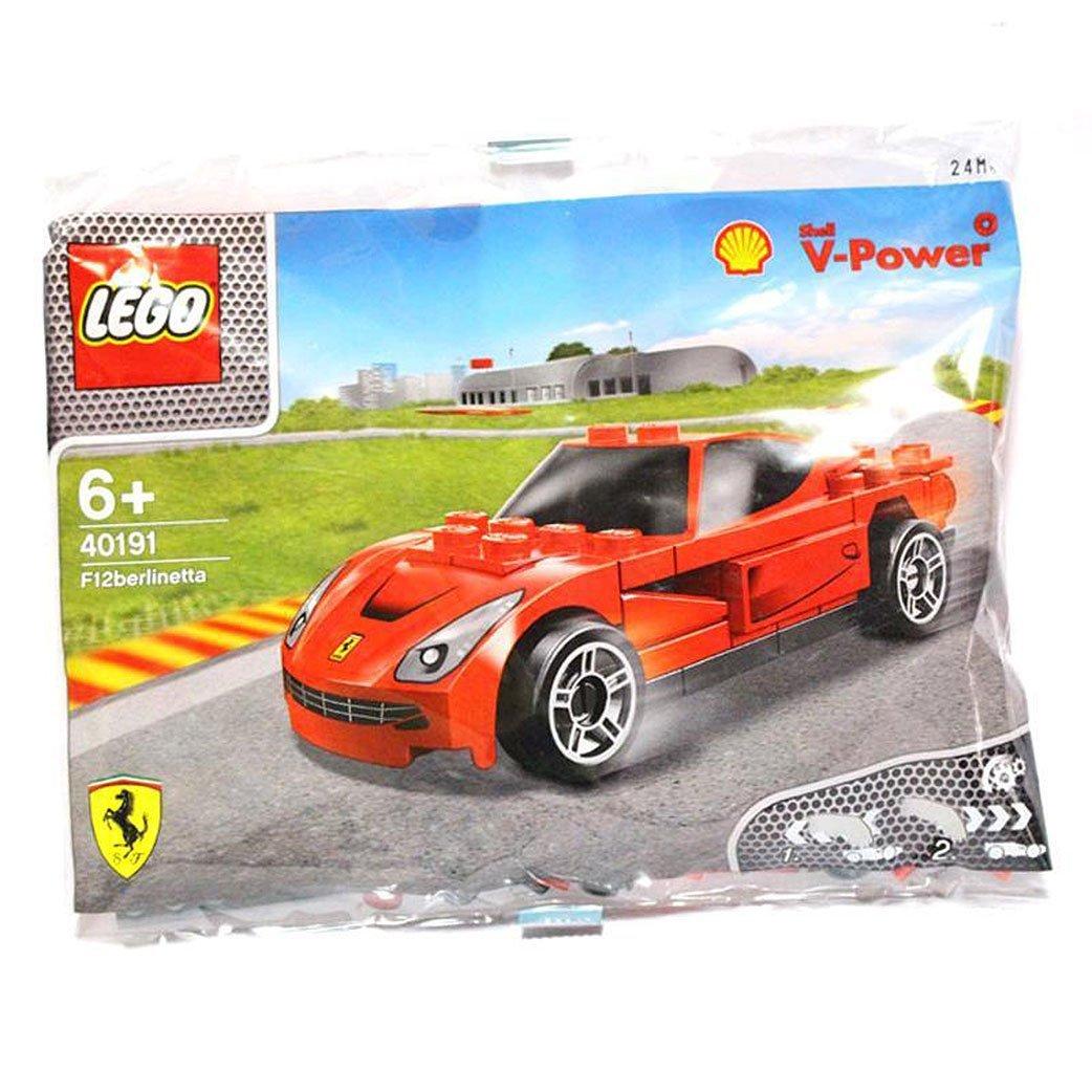 40191 Lego Shell V-Power Ferrari F12 Berlinetta Exclusive Sealed by LEGO bolsa de polietileno