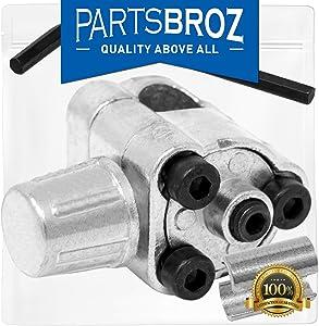 "BPV31 / TJ90BPV31 Bullet Piercing Valve Refrigerant Line Tap - 1/4"", 5/16"", and 3/8"" OD by PartsBroz - Replaces Part Numbers AP4502525, BPV31D, GPV14, GPV31, GPV38, GPV56, MPV31"