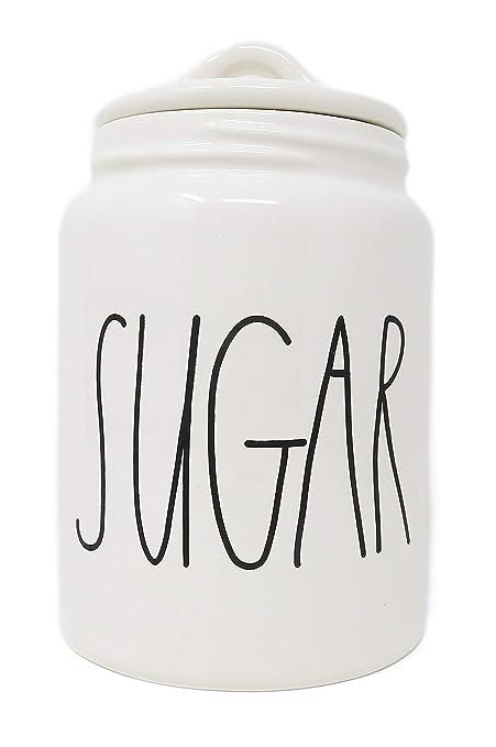 ae9ec35af4e Amazon.com  Rae Dunn Magenta Ceramic Canister Sugar  Kitchen   Dining