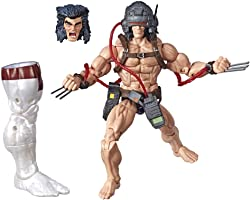 Marvel Legends Series 6-inch Collectible Action Figure Weapon X Toy (X-Men Collection) – with Marvel's Caliban Build-a-Figure Part