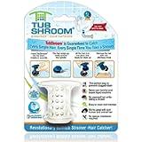 TubShroom TSWHT454 The Revolutionary Tub Drain Protector Hair Catcher/Strainer/Snare, White