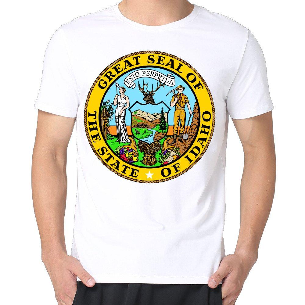 Amazon Idaho Boise T Shirts Funny T Shirt Printing Vintage T