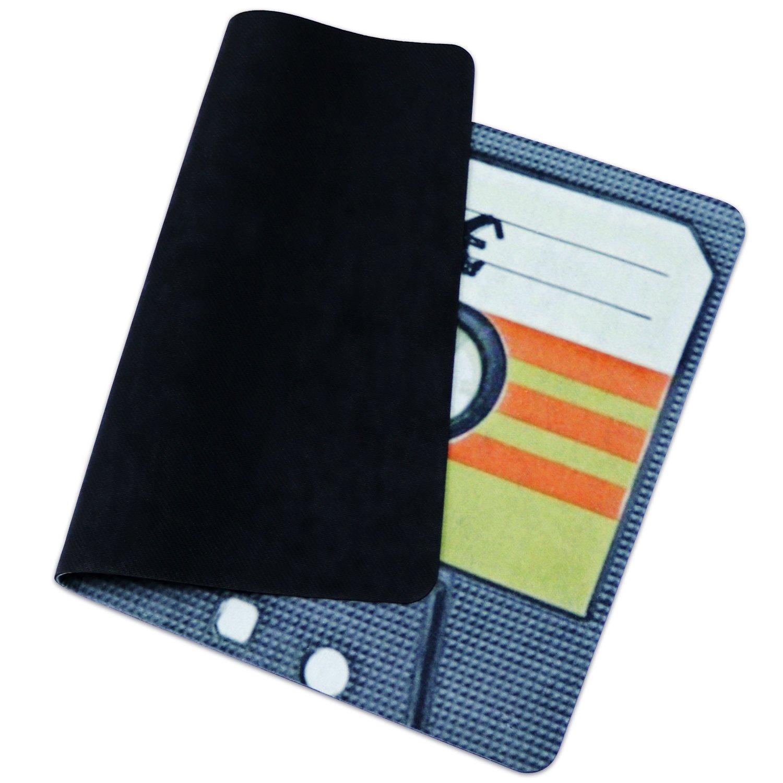 Door mat Samyoung Home Furnishings Environmentally Scrolls Durable Non-Slip Fashion Nostalgic Retro Cassette Tape Mat