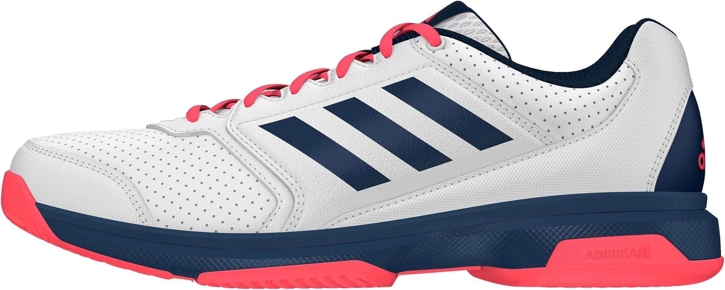 adidas Adizero Attack, Zapatillas de Tenis para Hombre, Blanco ...
