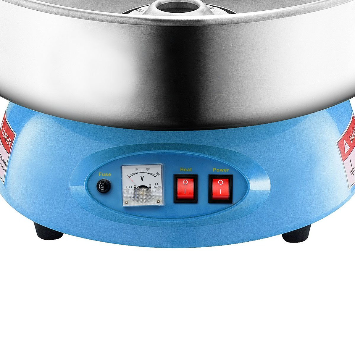 Clevr Compact Commercial Cotton Candy Machine Party Candy Floss Maker Blue by Clevr (Image #3)