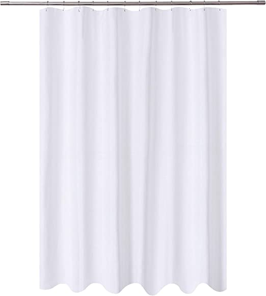 Amazon Com N Y Home Fabric Shower Curtain Liner Extra Long 72 X