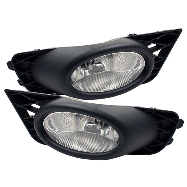 09-10 Honda Civic 4Dr Oem Style Clear Fog Lights