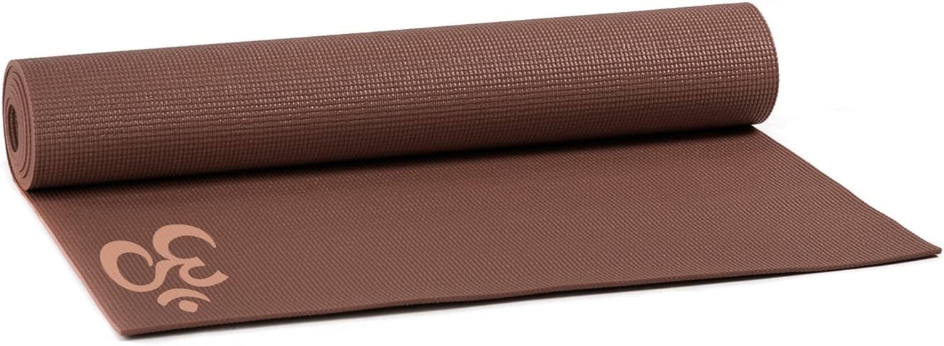 Yogistar Yogamatte Basic Om Esterilla de Yoga Unisex Adulto