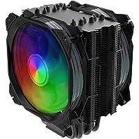 Nfortec Sculptor - Disipador por Aire para CPU de Alto Rendimiento con Iluminación ARGB y Compatible con Intel y AMD…