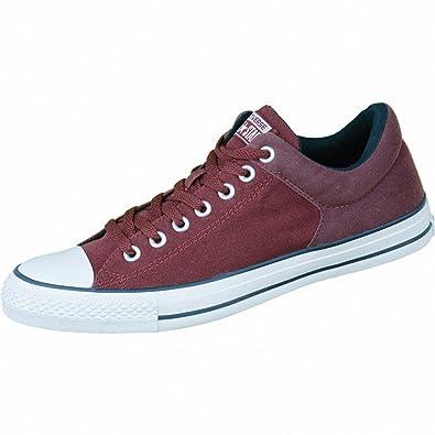 Unisex-Erwachsene Chuck Taylor All Star High Street OX Sneaker Low-Top, Blau/Schwarz, 37 EU Converse