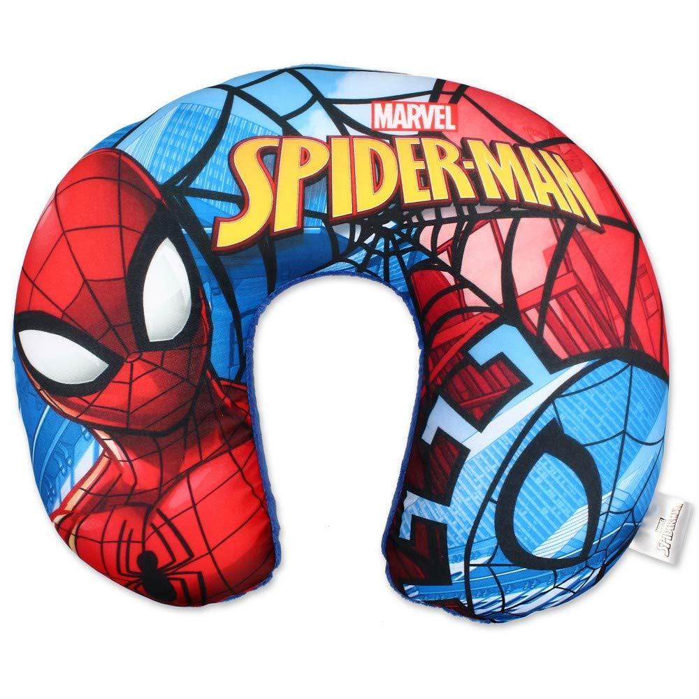 GUIZMAX Cale Tete Spiderman Enfant Voyage Voiture Coussin
