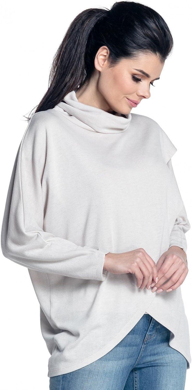 Zeta Ville Premam/á Top de Lactancia Efecto Cruzado Punto Fino Mujer 370c