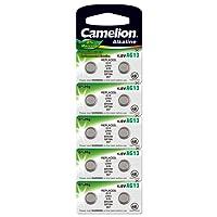 Came Lion 12051013 A bottone senza mercurio AG13/LR44/LR1154/357 (1,5 V, 10 Pack)