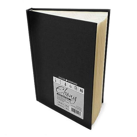 Daler Rowney Ebano Tapa Dura De La Artista Sketch Libro 150 G M