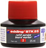 edding 4-BTK25002 Refill Service Board Marker - Red