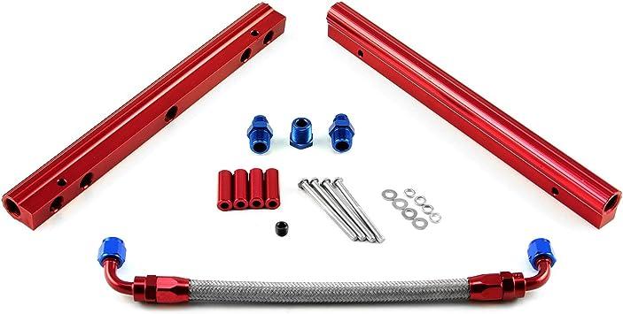 fits Ford 4.6L EFI 2 Valve Billet Aluminum Fuel Injector Rail Kit