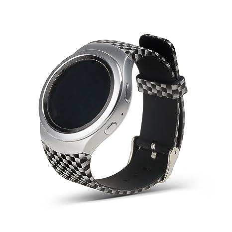 Gosuper Pulsera de silicona suave correa banda Smartwatch para Samsung Gear S2 SM-R720/R730