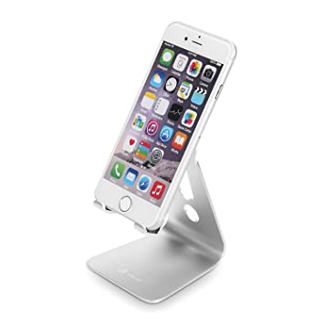 Amazoncom iClever Desktop Cell Phone Stand Portable Aluminum