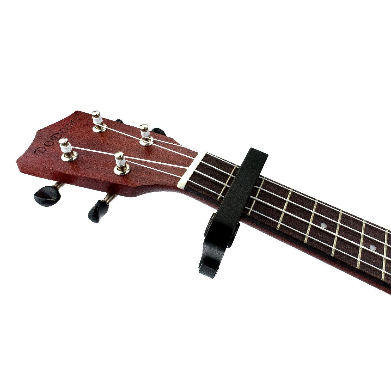 Debonice Cejilla Guitarra Capo Aleación para Guitarra Electrónica Clásica Acústica,Ukelele, Banjo y Mandolina (Negro): Amazon.es: Instrumentos musicales