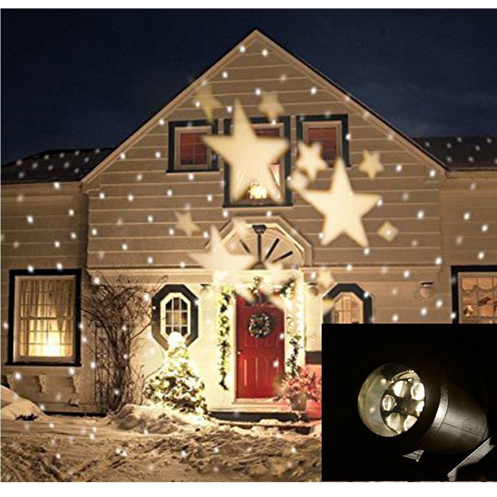 Luz de proyector de Navidad lámpara de proyector Luces decorativas ...