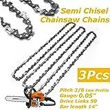 Sägenspezi Kette 55TG 40cm 3//8P 1,3mm passend für Stihl 018 MS180 Chain