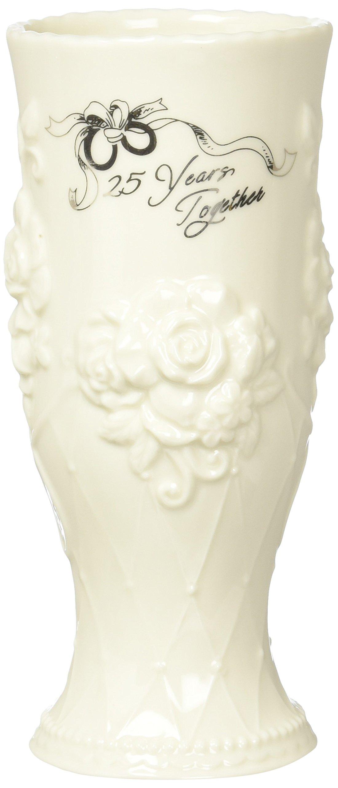 Cosmos 20916 25th Anniversary Vase 25th Anniversary Ceramic Vase