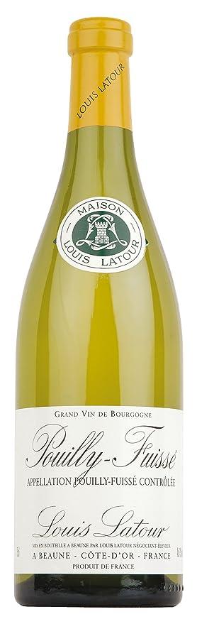 Vino blanco Pouilly-Fuissé Louis Latour Borgoña