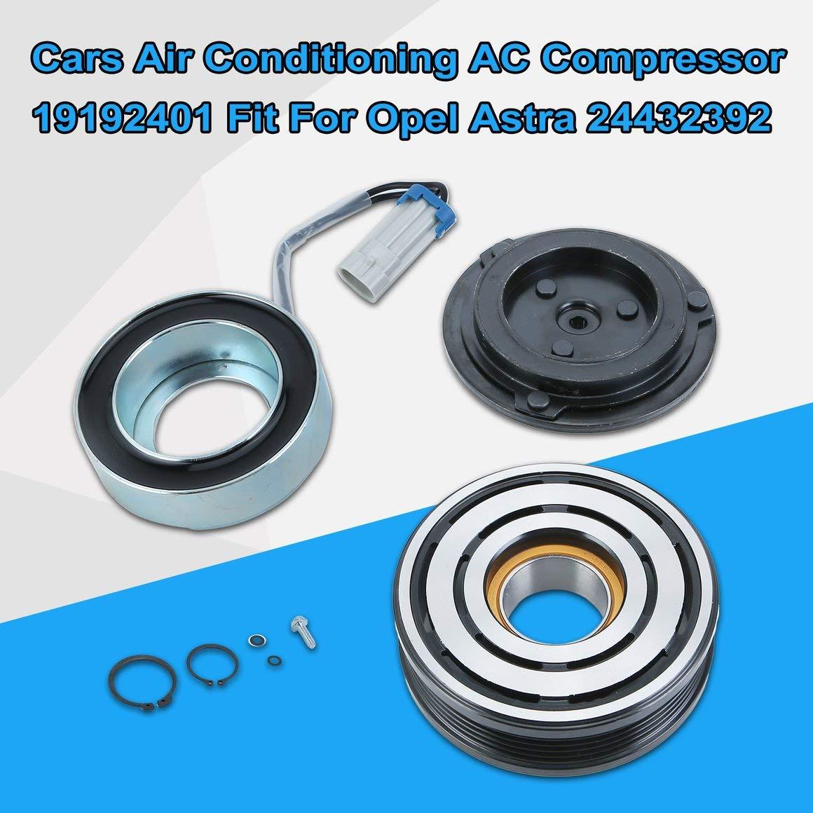 Funnyrunstore Cars Aire acondicionado Compresor de CA con embrague 19192401 Ajuste para Opel Astra 24432392 Compresor de CA profesional: Amazon.es: ...