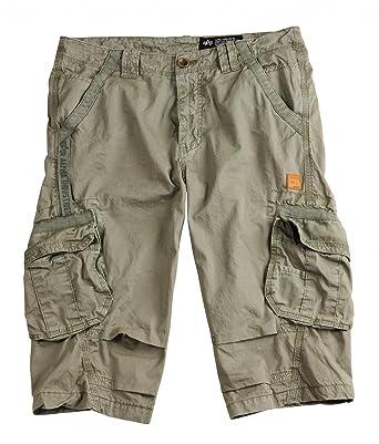Alpha Industries Herren Hosen   Shorts Imperial 3 4  Amazon.de  Bekleidung 37a82ccde4