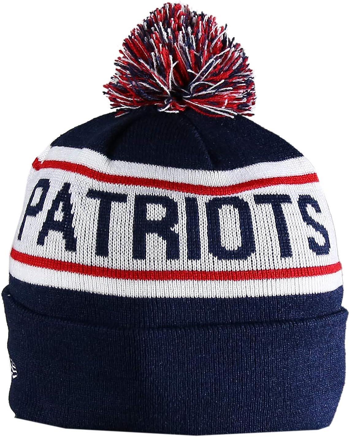 NE PATRIOTS Sport Knit Winter Wool Warm Beanie Hat Multicolour