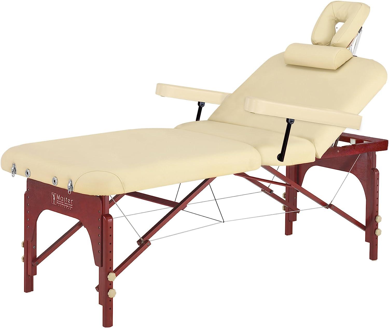 B001EJMQXA Master Massage SpaMaster Portable LX Massage Table Package, 31 Inch 71uBAkU-A4L.SL1500_