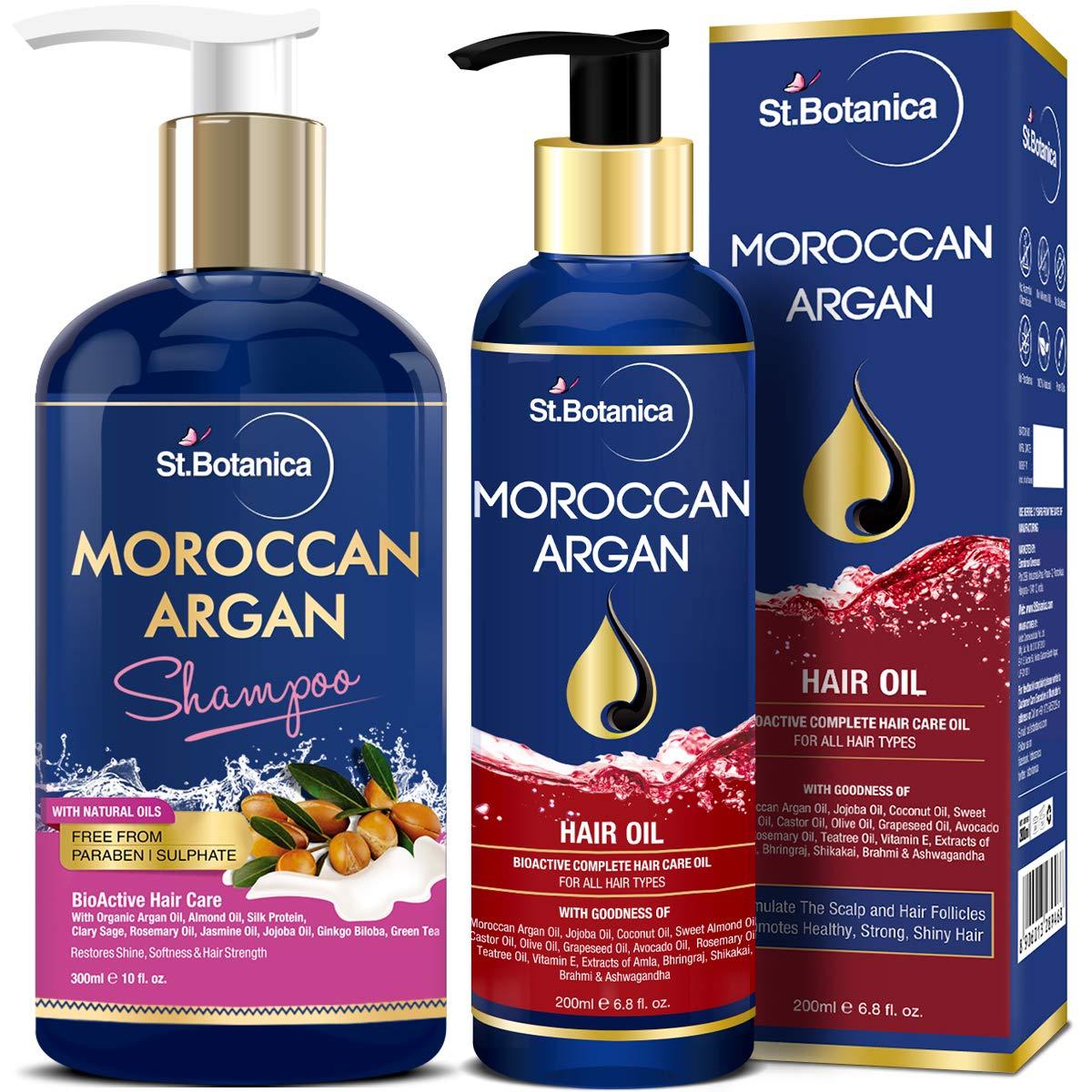 StBotanica Moroccan Argan Shampoo - Best Organic shampoo in India