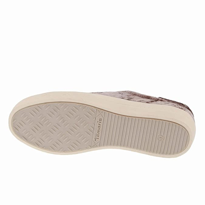 Tamaris Damen Plateau Sneakers Braun, Schuhgröße:EUR 36