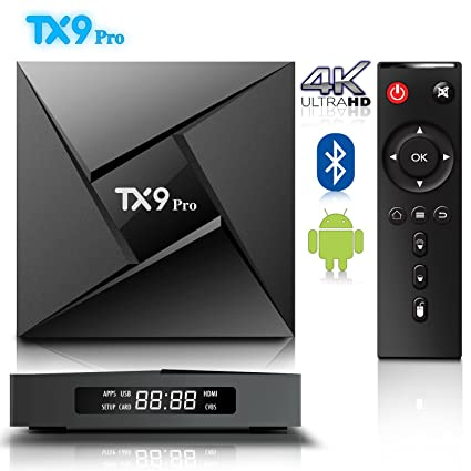 Android 7 1 TV Box, BPSMedia TX9 Pro with 3GB DDR3 RAM 32GB ROM Bluetooth  Amlogic S912 Octa Core A53 Processor 64 Bits Bluetooth - Real 4K Playing &