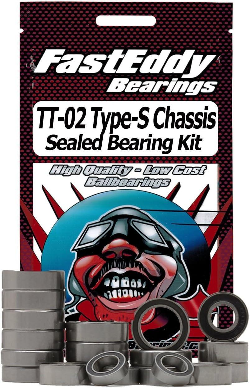 TT-02D /& TT-02R Complete Sealed Bearing Kit Set Tamiya TT-02 16 Bearings