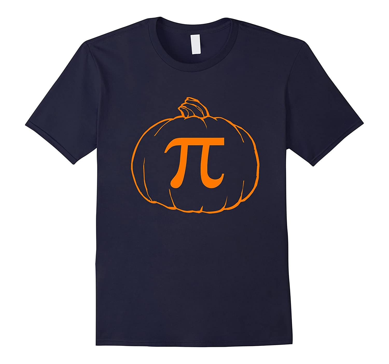 Funny Pi Pumpkin Pie Halloween Shirt-CL