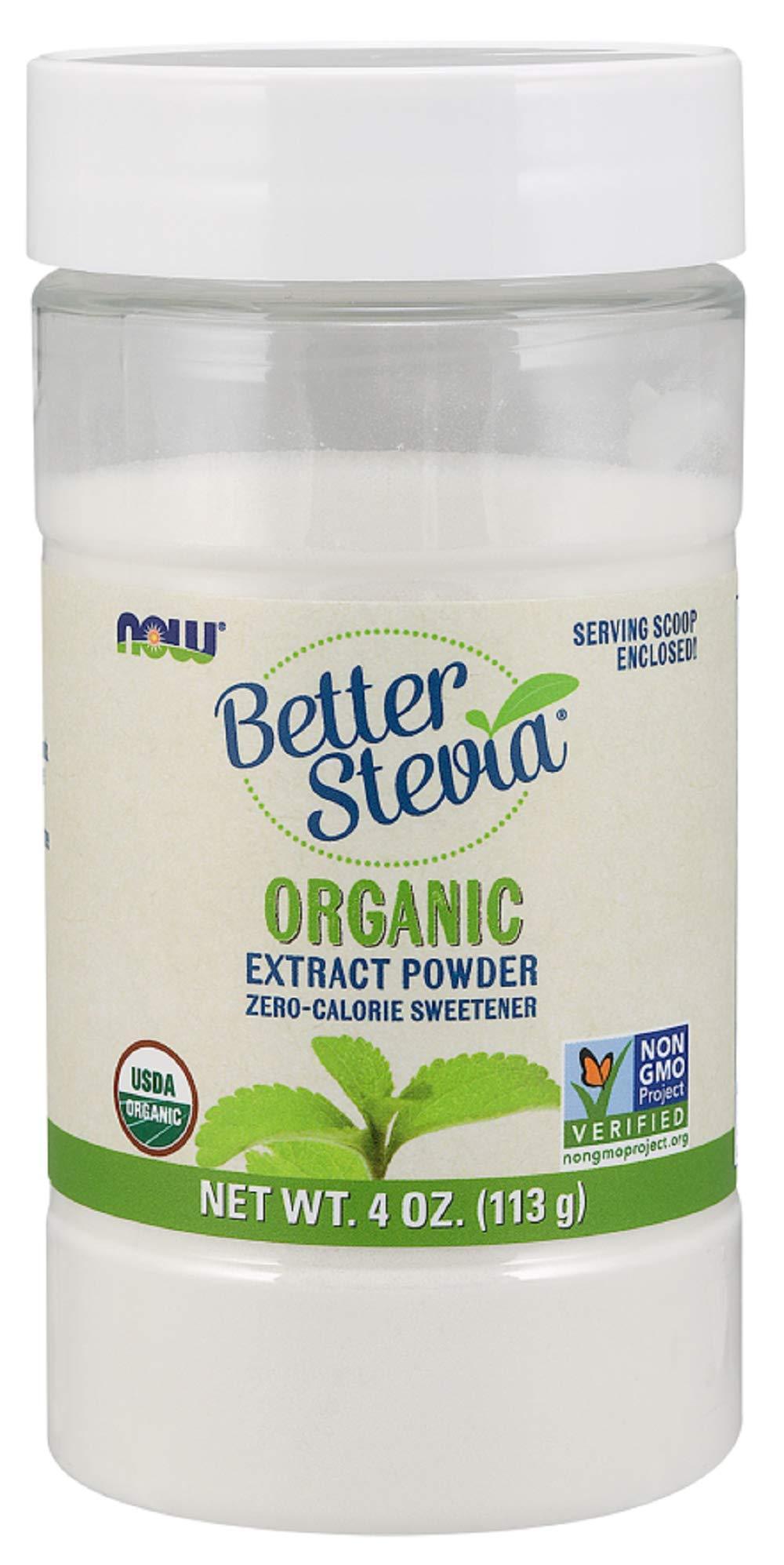Now  Better Stevia Organic Sweetener, 4 oz. (Pack of 2)