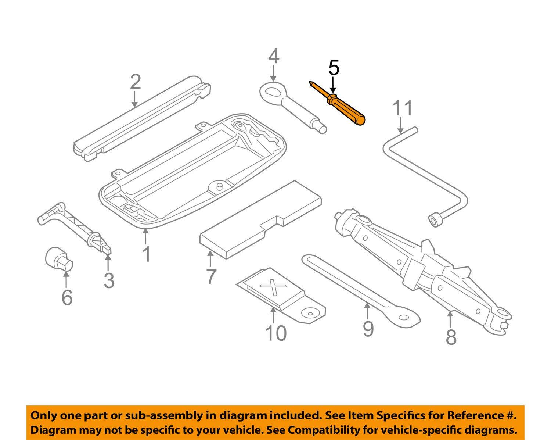Genuine BMW Dual Tip Screwdriver All BMW Tool Boxes 71-11-1-179-629