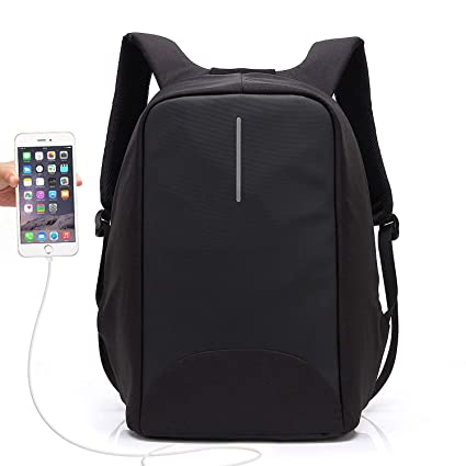 Anti Theft Charging Backpack, UBaymax Security Backpack with USB Charging  Port 15.6 quot  Business Laptop 7c9ad5595a