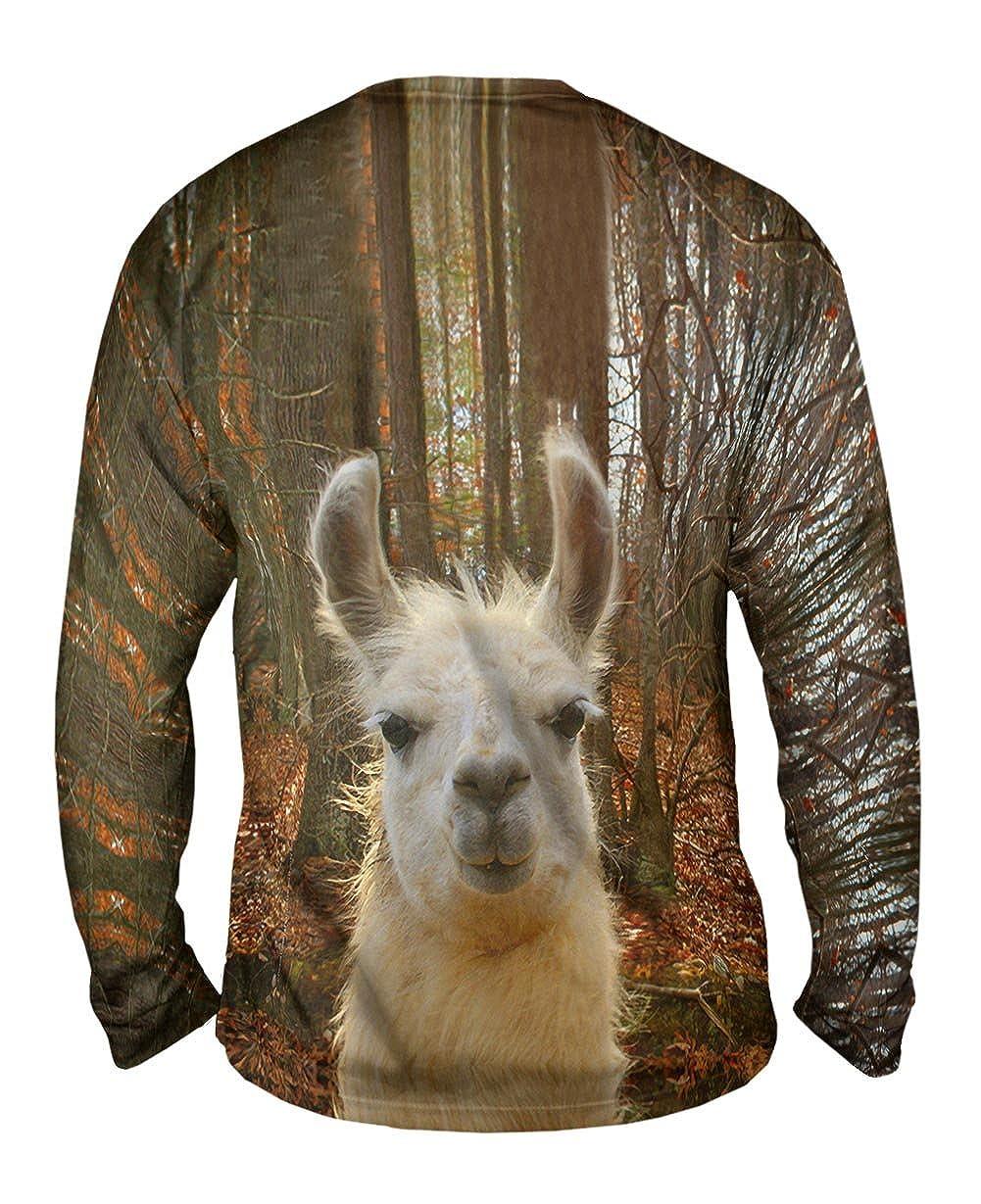 Yizzam You DonT Know Llama TShirt Mens Long Sleeve