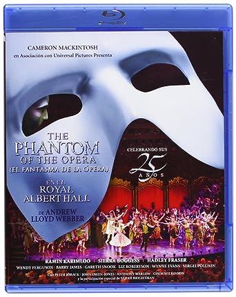El Fantasma De La Opera (El Musical) [Blu-ray]: Amazon.es ...