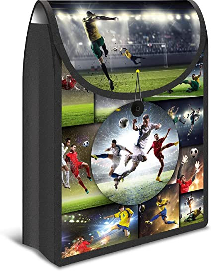 HERMA 19189 flexible Cuaderno Caja Flexibag, diseño de fútbol ...