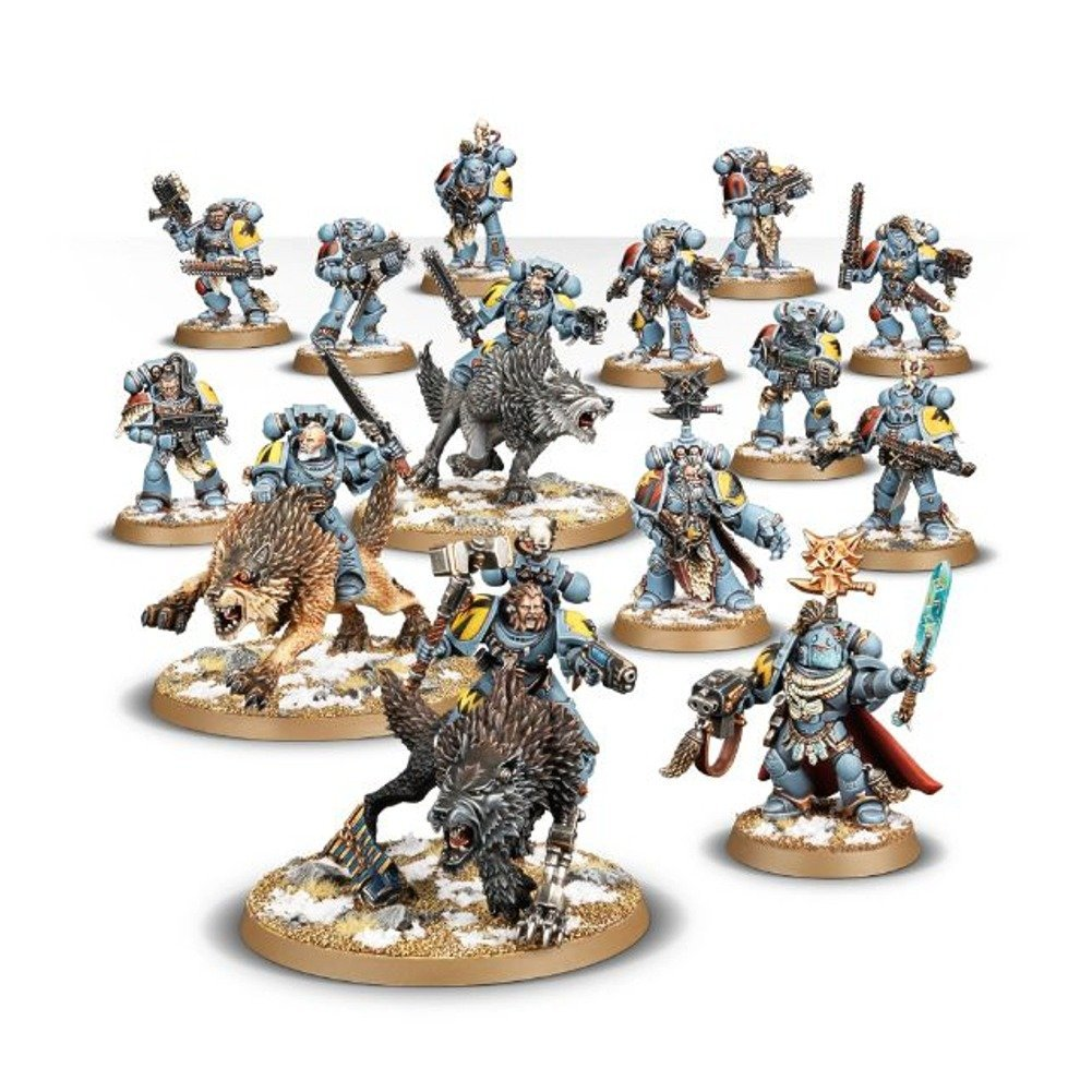 Start Collecting Space Wolves 70-53 - Warhammer 40,000 Games Workshop