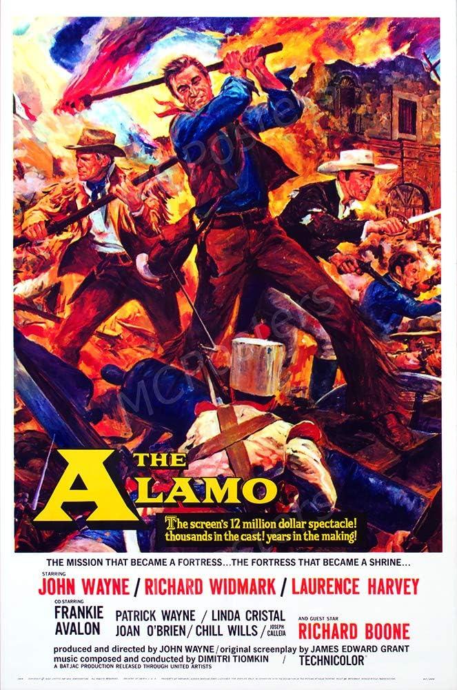 "MCPosters - John Wayne The Alamo Glossy Finish Movie Poster - MCP744 (24"" x 36"" (61cm x 91.5cm))"