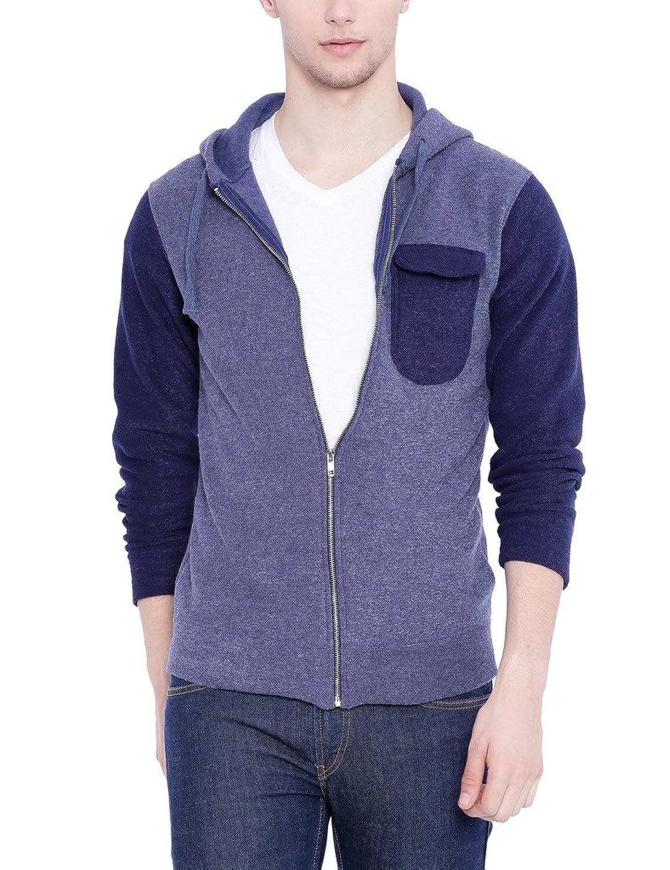 Campus Sutra Men Denim Sweatshirt