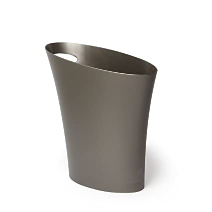 Amazoncom Umbra Sleek Stylish Bathroom Small Garbage