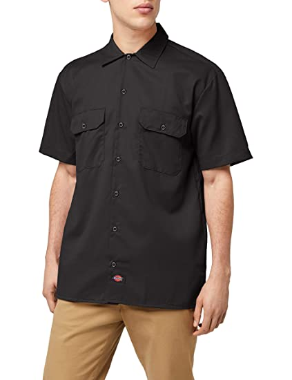 Dickies Work Chemise Manches courtes Homme  Dickies  Amazon.fr ... 1a294b9d32e