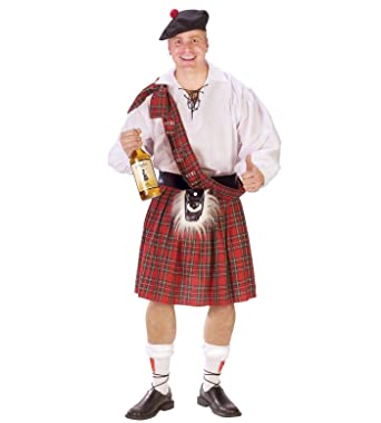 Amazon com: ESSA OAT clothes series Scottish Kilt Highland